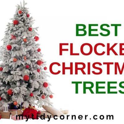 Top 7 Cutest Flocked Christmas Trees