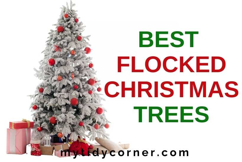 Best flocked Christmas trees