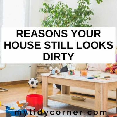 17 Reasons Your House Still Looks Dirty