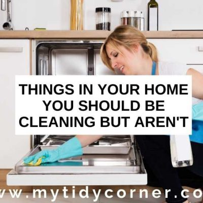 26 Things You Should Be Cleaning But Aren't