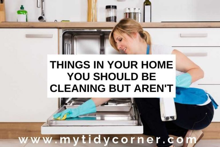 Things you should be cleaning but aren't