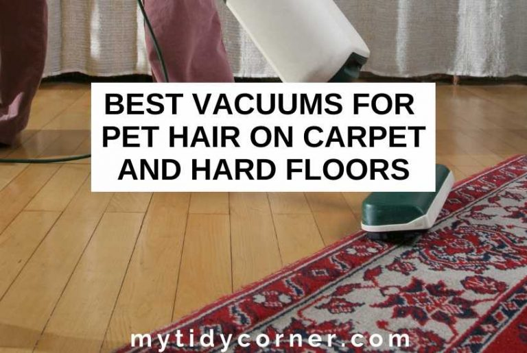 Best vacuums for pet hair on carpet and hardwood floors