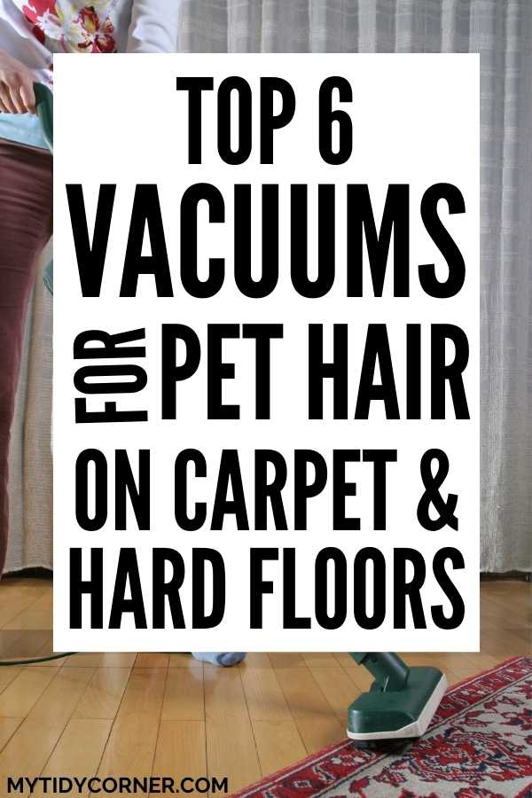 Top rated vacuum cleaners for pet hair