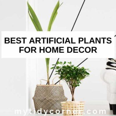 7 Best Artificial Plants for Home Decor