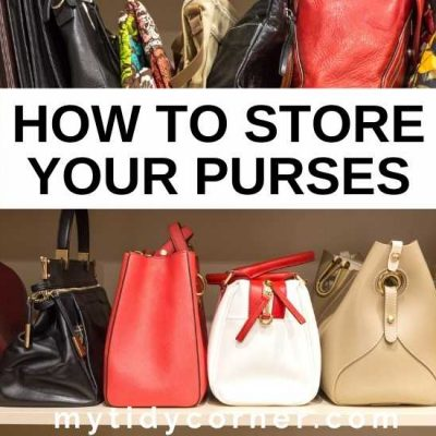 How to Store Purses