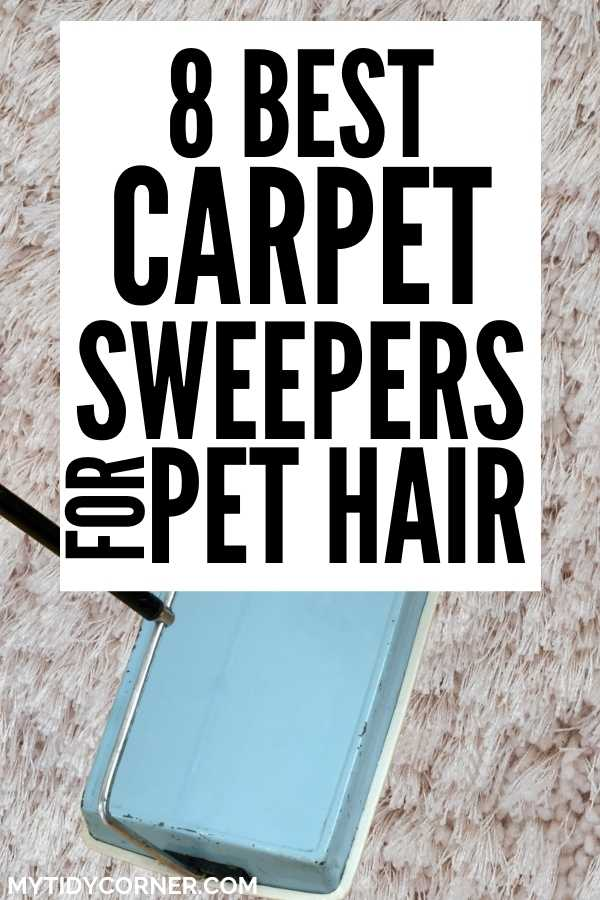 Top rated carpet sweepers for pet hair