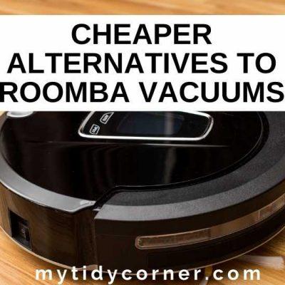 3 Cheaper Roomba Alternatives