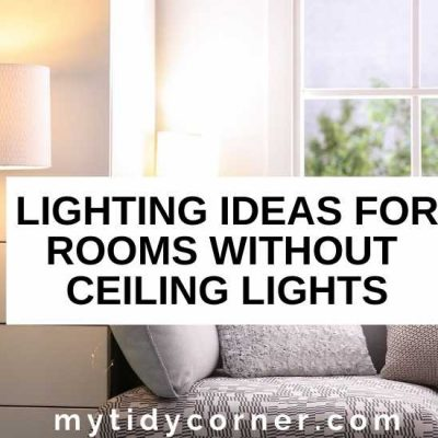 8 Lighting Ideas for Rooms Without Ceiling Lights