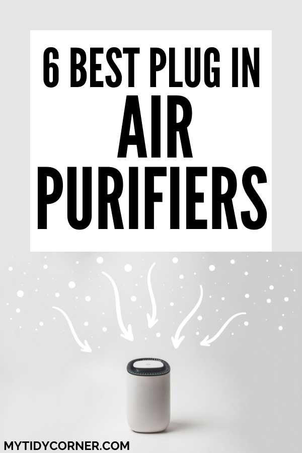 Top rated plug in air purifiers