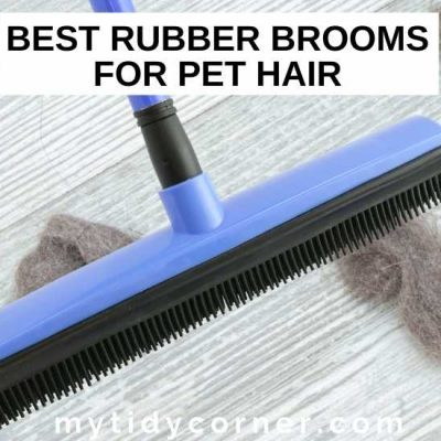 5 Best Rubber Brooms for Pet Hair