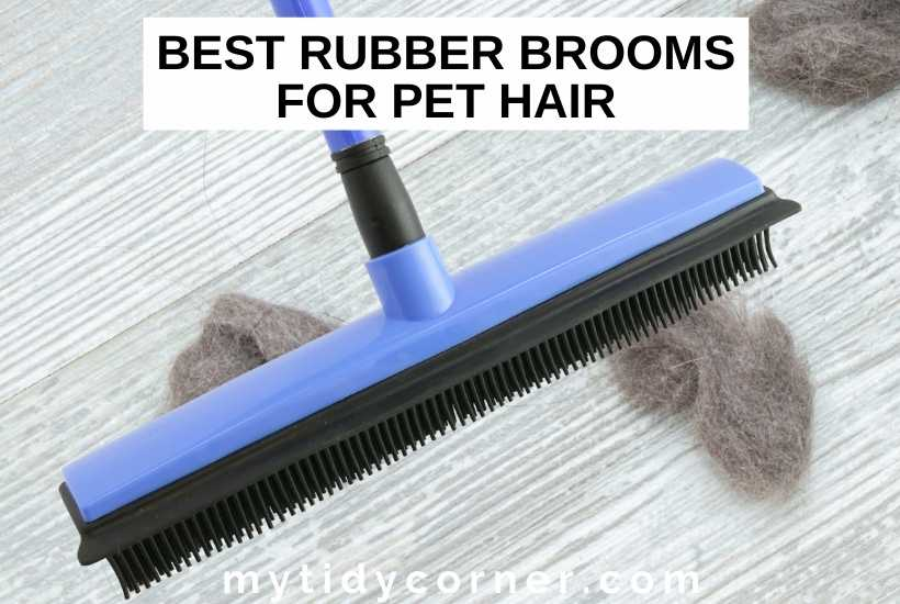 Best rubber brooms for pet hair removal