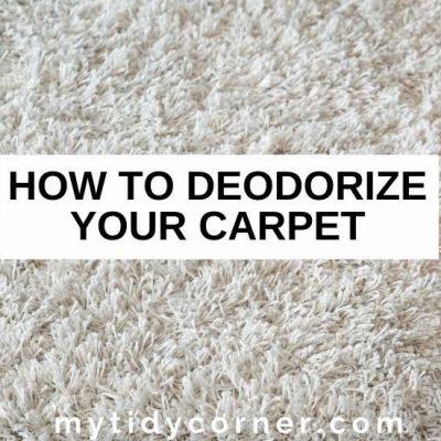 How to Deodorize a Carpet