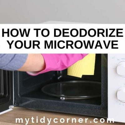 How to Deodorize a Microwave