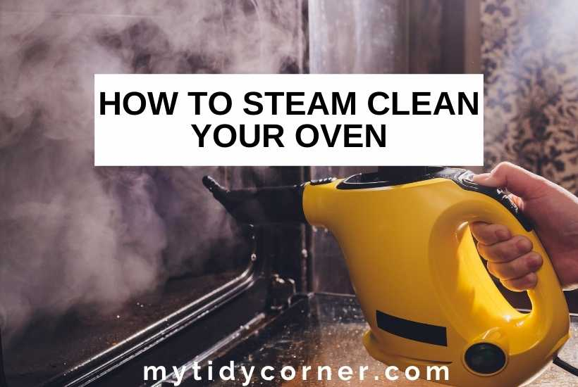 How to steam clean an oven