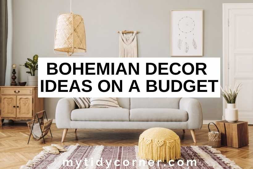 Bohemian decor on a budget