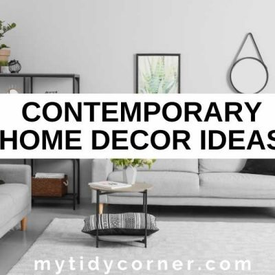14 Contemporary Home Decor Ideas