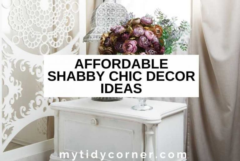 Shabby chic decorating ideas on a budget home
