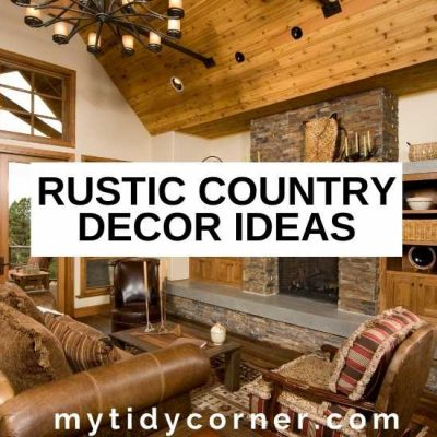 15 Rustic Country Decor Ideas