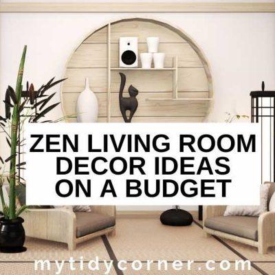 Zen Living Room on a Budget – 11 Decor Ideas